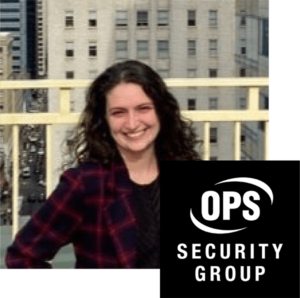 Lilli Dellheim, Marketing Director OPS Security Group